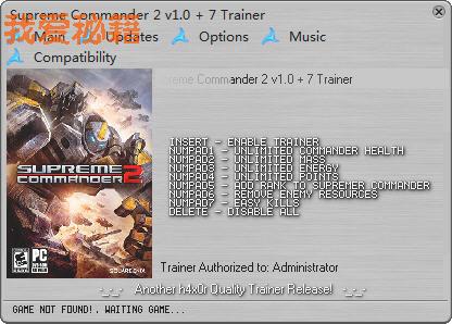 《最高指挥官2》v1.0修改器 + 7