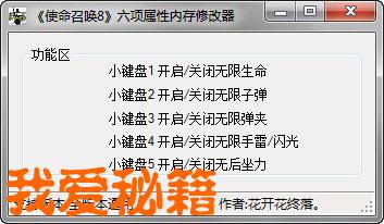 ...修改)   ps2:请关闭杀毒软件否则可能会导致修改器修改无效!...