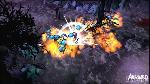 """还记得《爱丽丝:疯狂回归》的开发商吗,那个来自中国上海的麻辣马工作室,他们又要出新作了。 《愤怒的小红帽:猎魔姬》取材于经典童话故事《小红帽》,近日开发商Spicy Horse日前公布了旗下免费ARPG新作《愤怒的小红帽:猎魔姬(Akaniero: Demon Hunters)》的首段实际游戏演示视频。 从演示视频中我可以看到""""小红帽""""可以使用多种武器:双刀,匕首,单手剑,太刀,单手斧."""