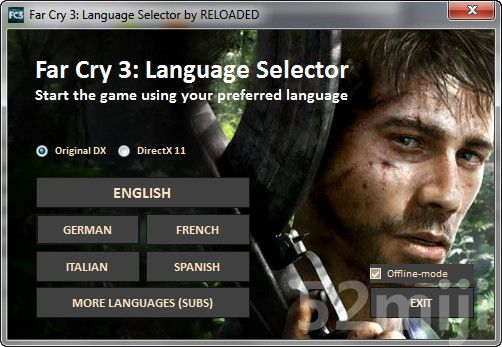 《孤岛惊魂3》多国语言切换工具