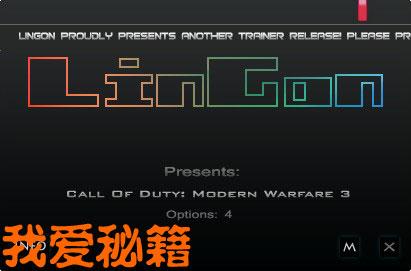 使命召唤8 现代战争3修改器