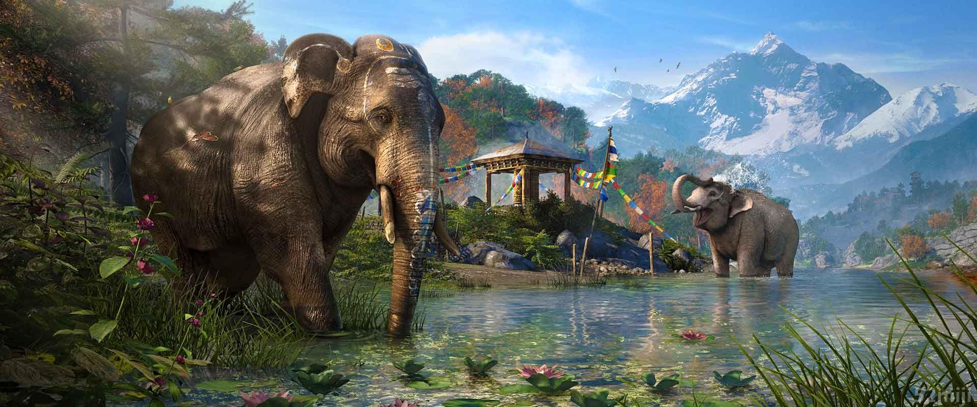 孤岛惊魂4游戏截图壁纸