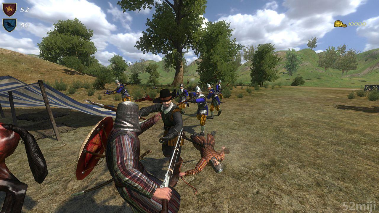 骑马与砍杀:火与剑男子田径200米图片