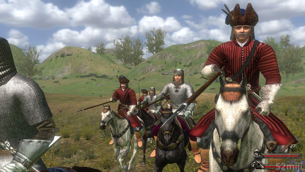 骑马与砍杀:火与剑steam像素射箭图片