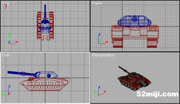 用3DS-VXL制作红警坦克实例 从2002年3月份我开始接触3DS-VXL,至今已有半年,经过这半年的摸索有了一点心得,现在拿出来和大家探调一下: 1:做的坦克在修改时出现炮塔偏左或扁右,不知道怎么调整,偶尔不偏了, 却出现坦克炮塔陷入车身的问题或坦克变扁,怎么办? 答:打开3DS-VXL,如图1所示勾选,这样转换出的VXL座标原点在VXL的正中间, 即然原点在VXL的正中间,那就好办了,我们就可以通过调整3DS模型的 长,宽,高来确定座标原点的位置。建一个炮塔,再做两个球体(sphere),球体直径为