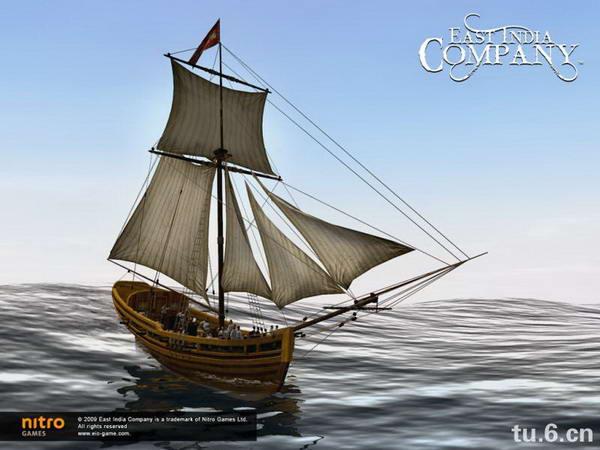 速写帆船图片素材