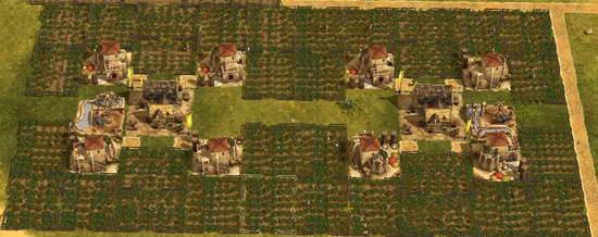 《纪元1404》更高效美观农场布局(图)