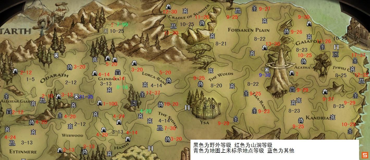 阿玛拉王国地图进入等级及训练师位置解析;