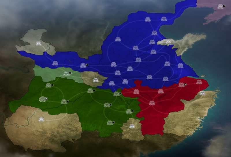 《三国志12》各作战地图战术分析(图)