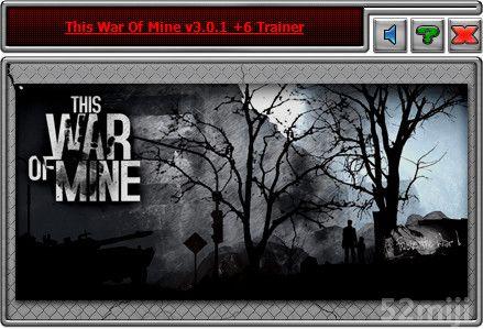 《这是我的战争》v2.2-v3.02修改器 + 6